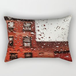 Rainy Day in Brooklyn Rectangular Pillow