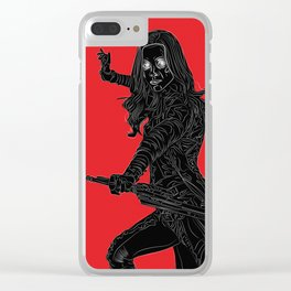 Gamora, GuardiansOfTheGalaxy Clear iPhone Case