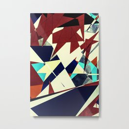 Retropulsion Metal Print