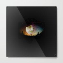 Tarot - The Moon Metal Print