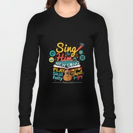 Psalm 33 Long Sleeve T-shirt