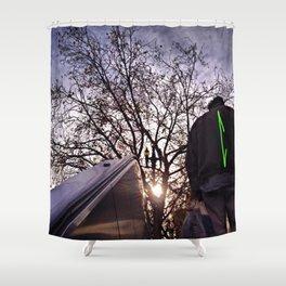 Up Away Shower Curtain