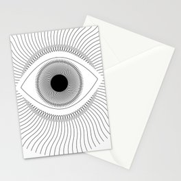 Third Eye (on White) Stationery Cards