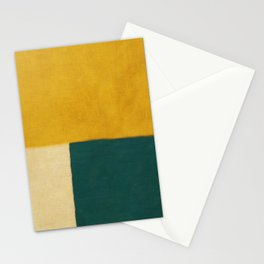 Yellow White Petroleum Stationery Cards
