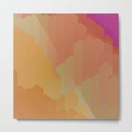 Kaleidoscope mineral Metal Print