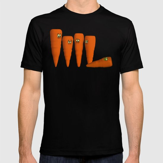Is that a...zombie carrot!?!! T-shirt