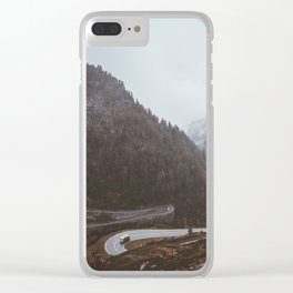 Cars and Curves Clear iPhone Case