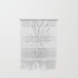 One Line Pineapple Wall Hanging