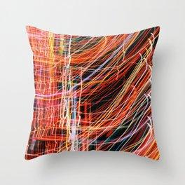 Blurred Light Throw Pillow