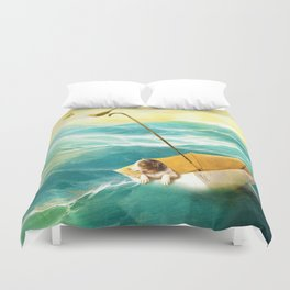 Drifting Away Duvet Cover