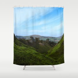 Reached the peak Shower Curtain