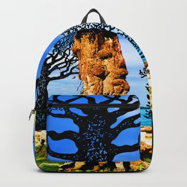 If A Tree Falls In Sicily Color 1 Backpack