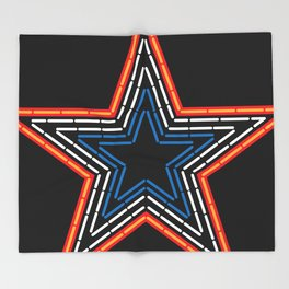 Roanoke Pride Mill Mountain Star Throw Blanket