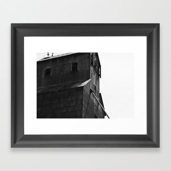 Grain Tower Framed Art Print