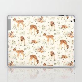 Wildflower Fawn Laptop & iPad Skin