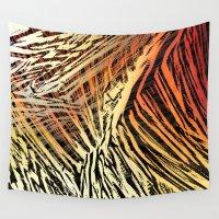 safari Wall Tapestries featuring Safari Skin by Krzysztof Gawor