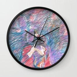 Chouchou 6 Wall Clock