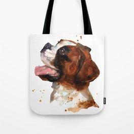 Boxer Joy Tote Bag
