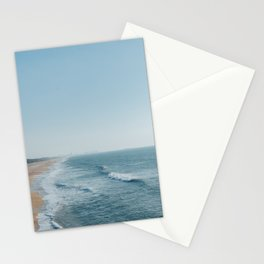 Playa de lado Stationery Cards