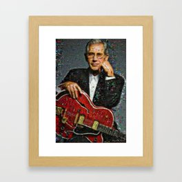 "Chester Burton ""Chet"" Atkins CGP Framed Art Print"
