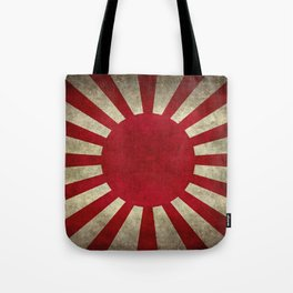 The imperial Japanese Army Ensign Flag Tote Bag