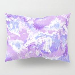 Marble Mist Lilac Pillow Sham