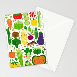Eat your greens! Stationery Cards
