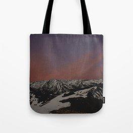 Sunset on Elbert Tote Bag