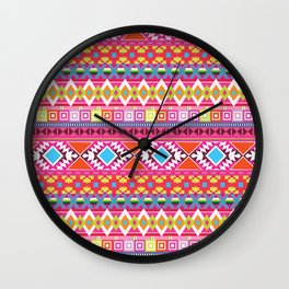 Andes Cinco Wall Clock