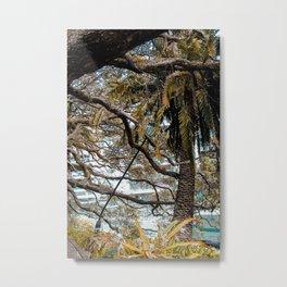 Apocalypse: Nature vs Industry (vertical) Metal Print