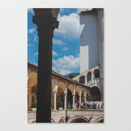 assisi Canvas Print