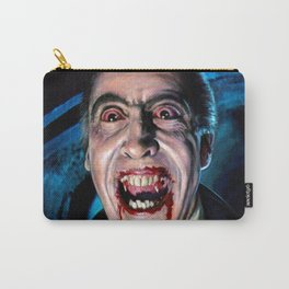Christopher Lee Dracula Horror Movie Monsters Carry-All Pouch