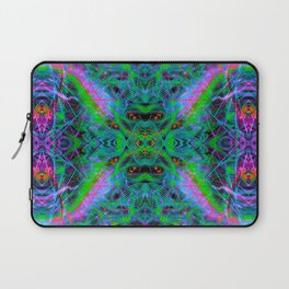 Techno Electric IV (Ultraviolet) Laptop Sleeve
