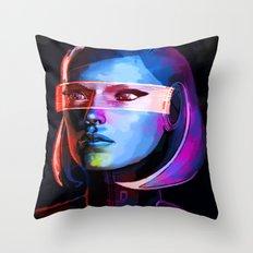 EDI Throw Pillow