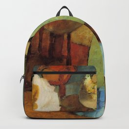 Edgar Germain Hilaire Degas 011 By Edgar Degas | Reproduction | Famous French Painter Backpack