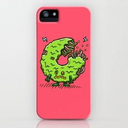 Zombie Donut 02 iPhone Case
