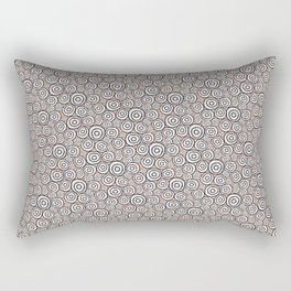 Circles Pattern -Tobiko #abstract Rectangular Pillow