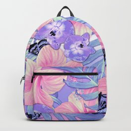 Tropical Spring Lavender Backpack