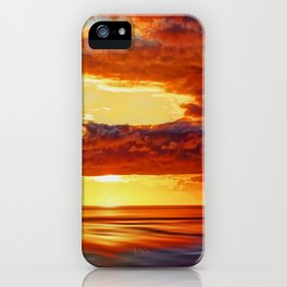 Irish Sea Sunset iPhone Case