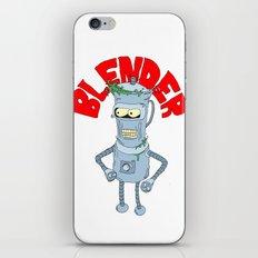 blender iPhone & iPod Skin