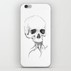 Skull with Tentacles iPhone & iPod Skin