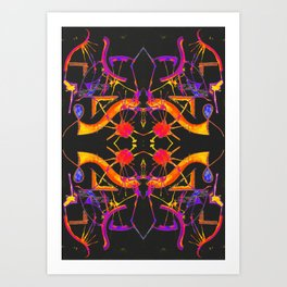 五 (Wǔ) Art Print