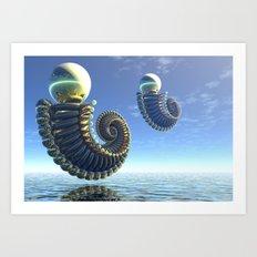 Pearl Keepers Art Print
