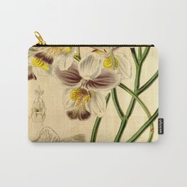 Papilionanthe teres (as syn. Vanda teres) Carry-All Pouch