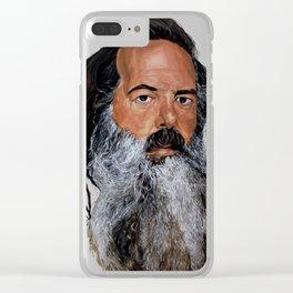 Rick Ruben Clear iPhone Case