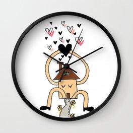 LOVE at home Wall Clock