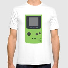 GAMEBOY Color - Green Mens Fitted Tee White MEDIUM
