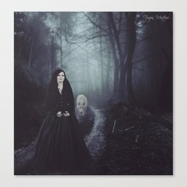Seven Days To The Wolves Nightwish Inspired Artwork Canvas Print