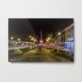 Petrópolis at night Metal Print