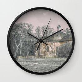 Abandoned church Wall Clock